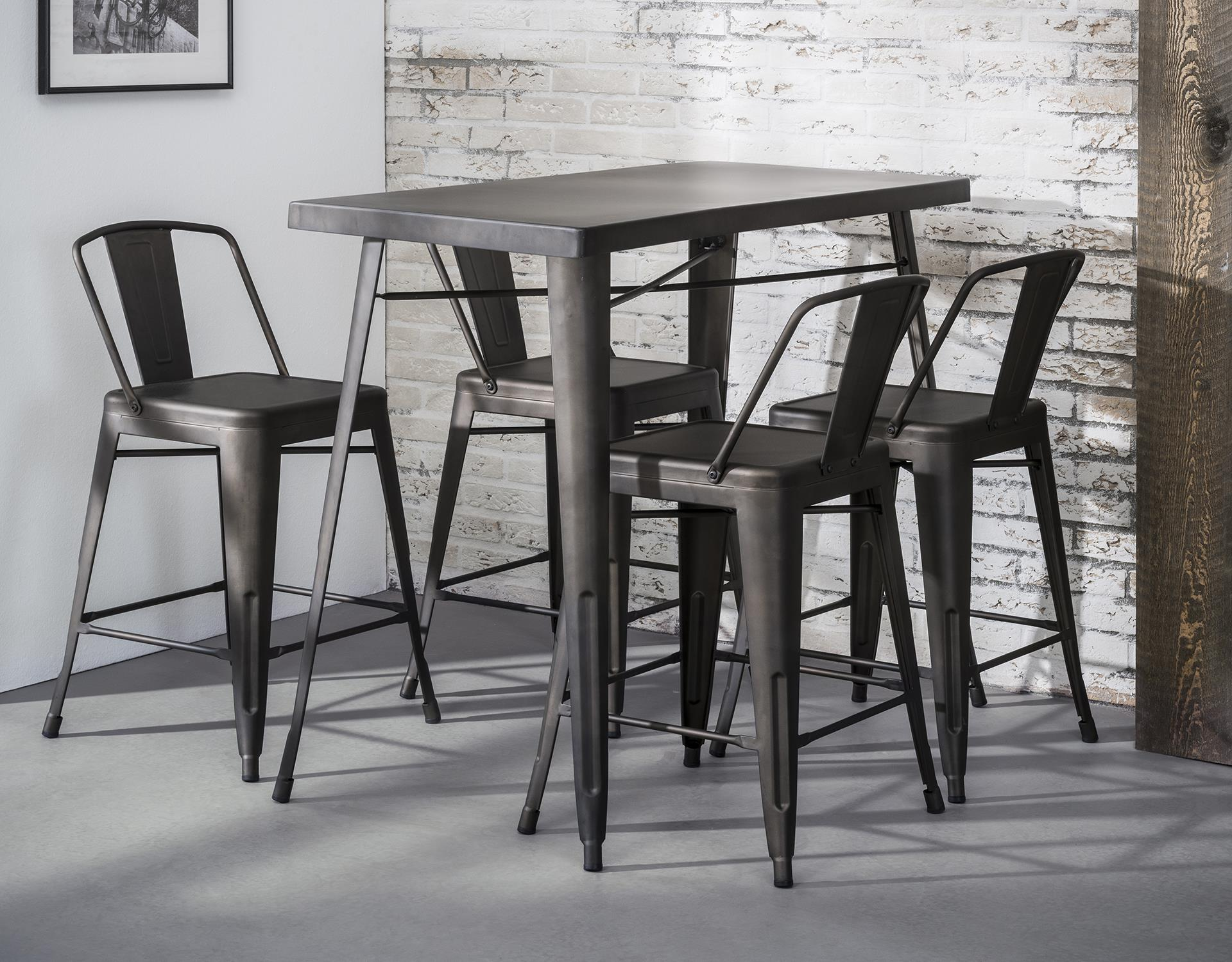 Table Haute Cuisine Metal Ralf Ref 30021995 Tables Hautes