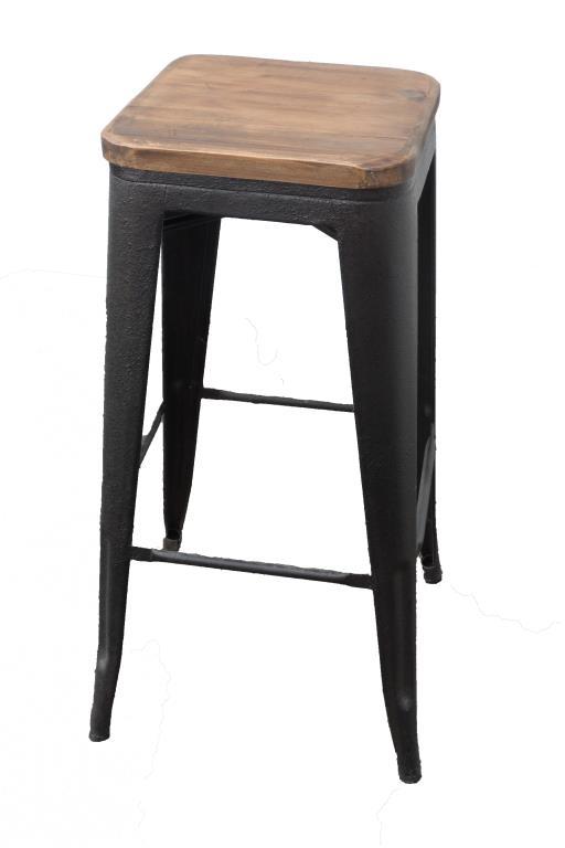 tabouret de bar industriel landaise tabourets de bar chaises de bar pier import