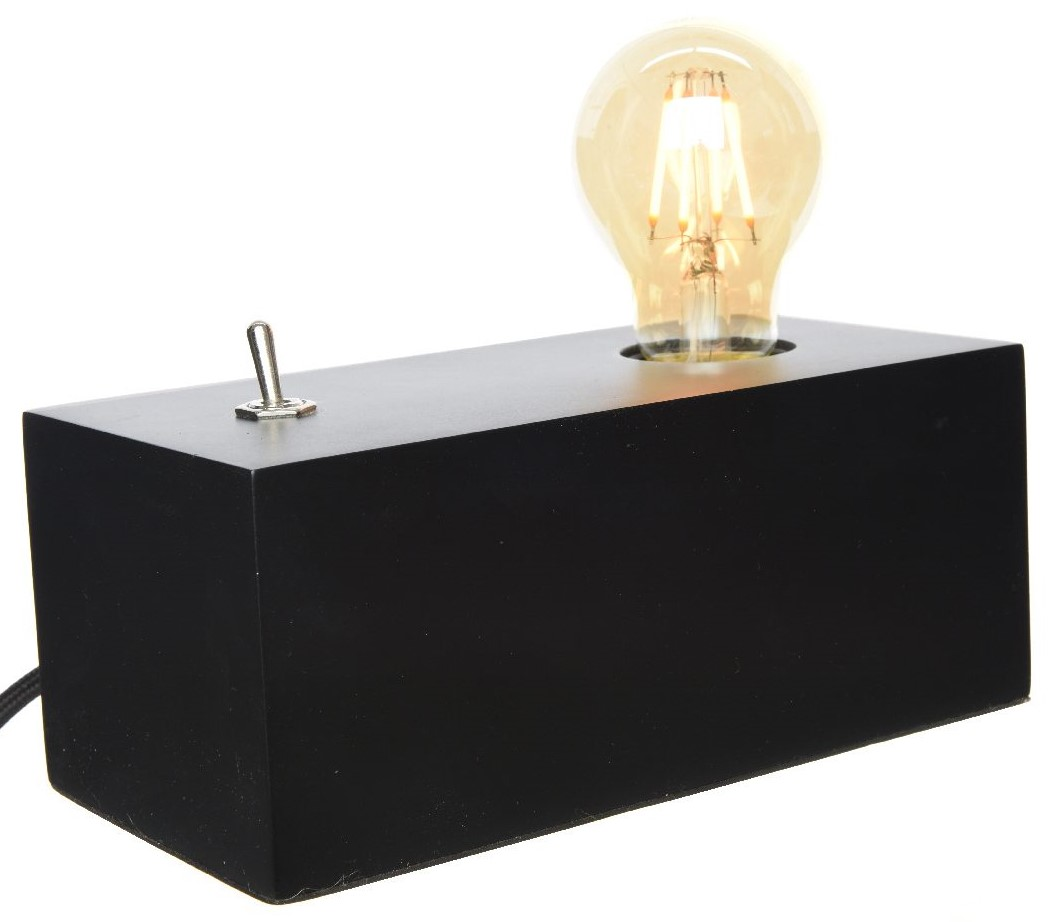 20 Caisson Noir Bois Lampe Cm Variateur rCxodtsQhB