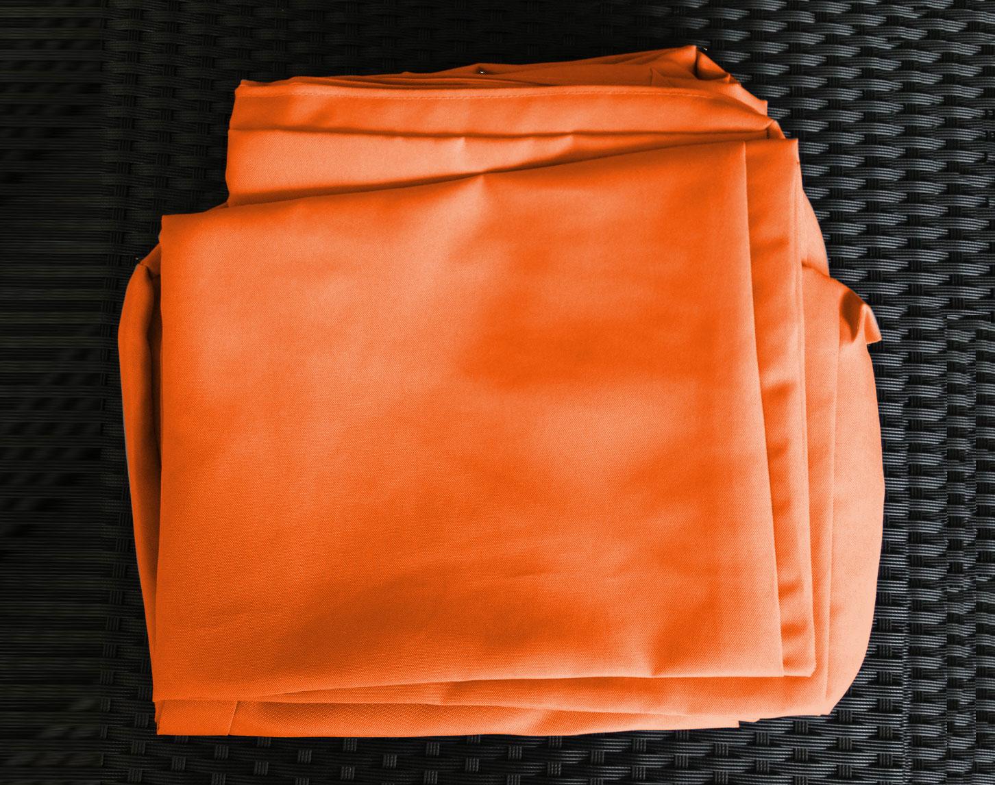 Tissu Jeu Housses Pour De Salon Bali Orange Jardin dBCxoe