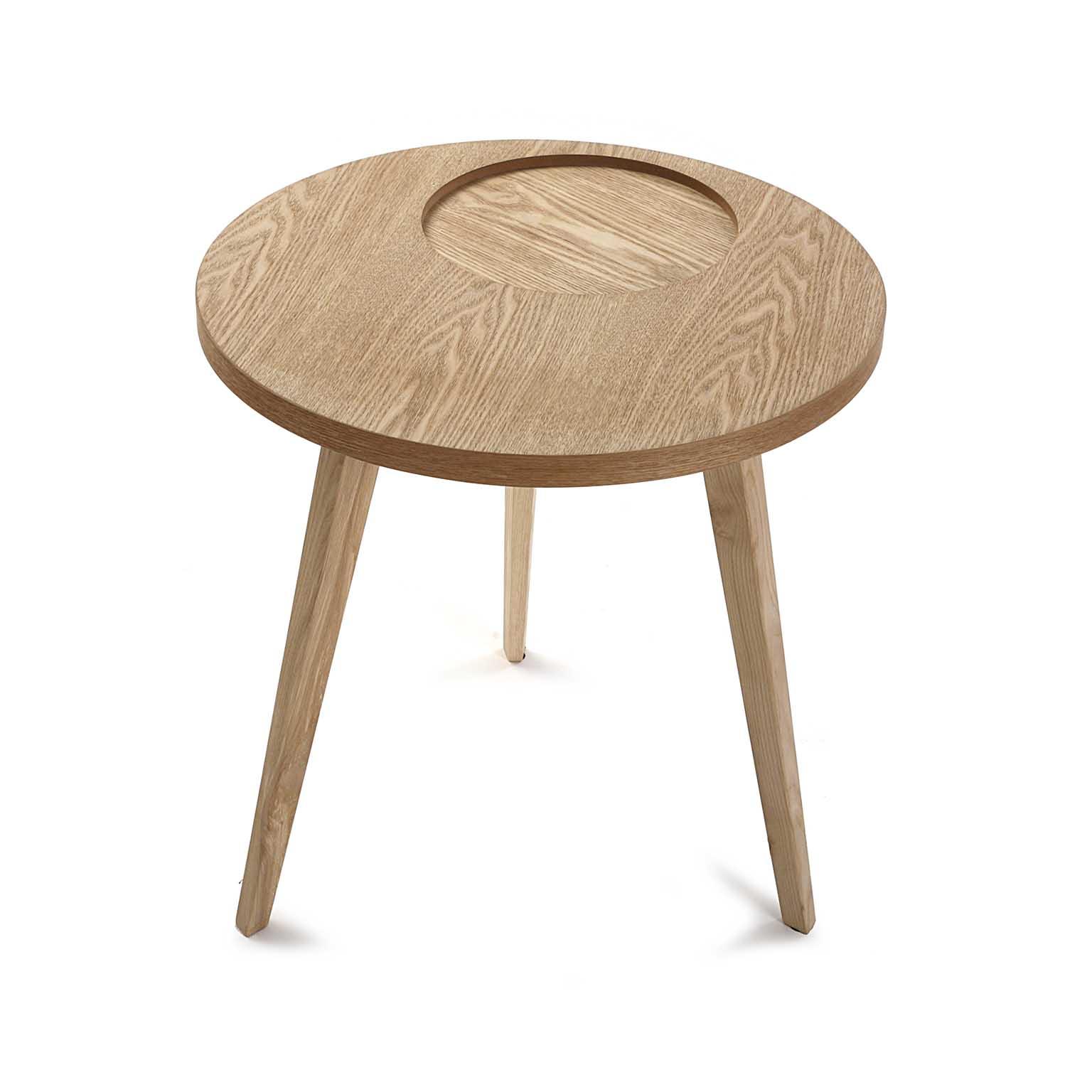 Table De Chevet Bout De Canapé Style Scandinave En Bois Clair