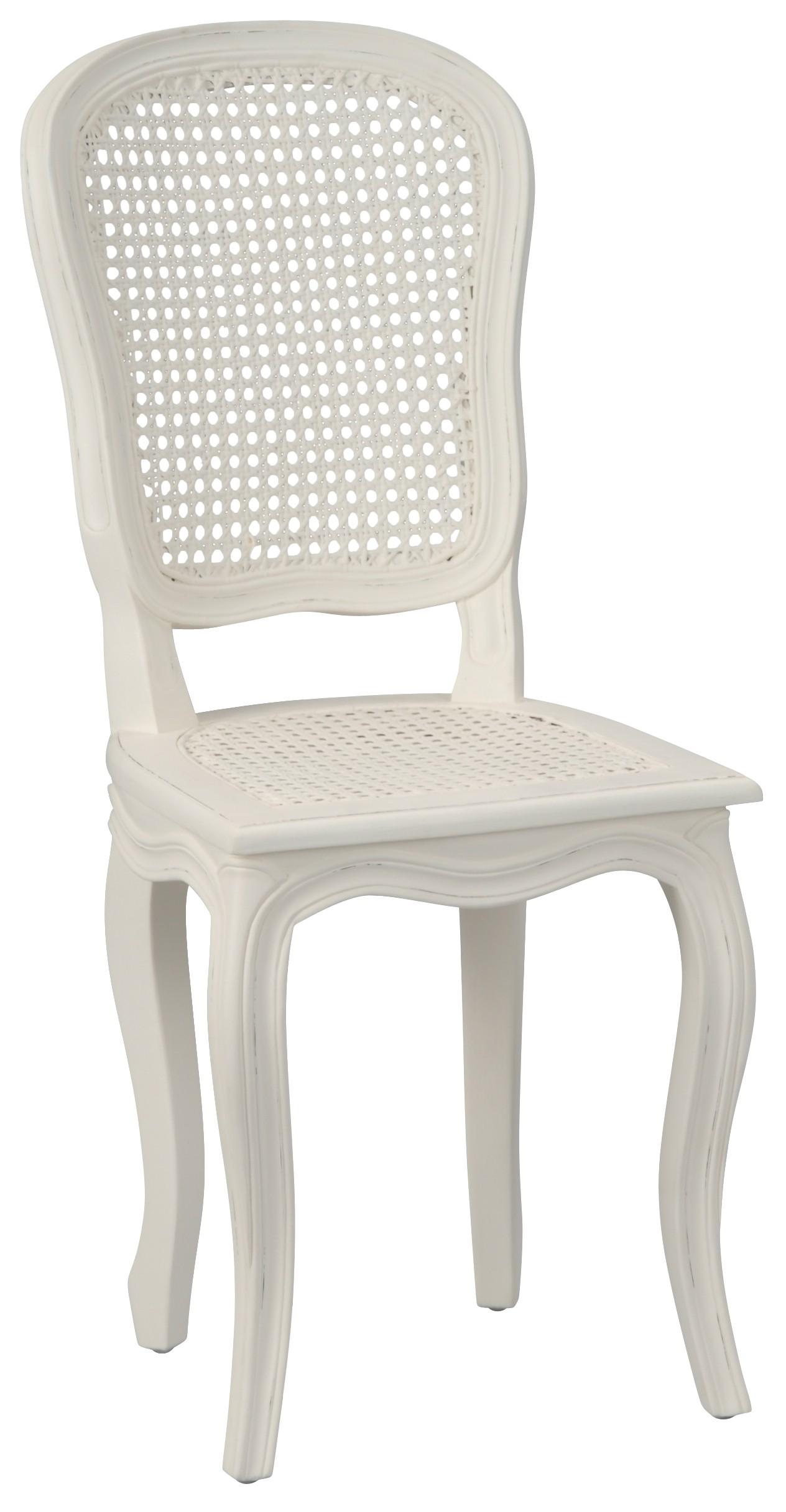 Chaise Salle A Manger Louis Xv chaise romantique cannée louis xv bois crème antique murano l40xp50xh96  amadeus