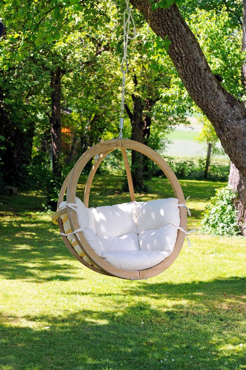 Fauteuil Suspendu D Exterieur fauteuil suspendu jardin globo chair sans housse 121x118cm amazonas