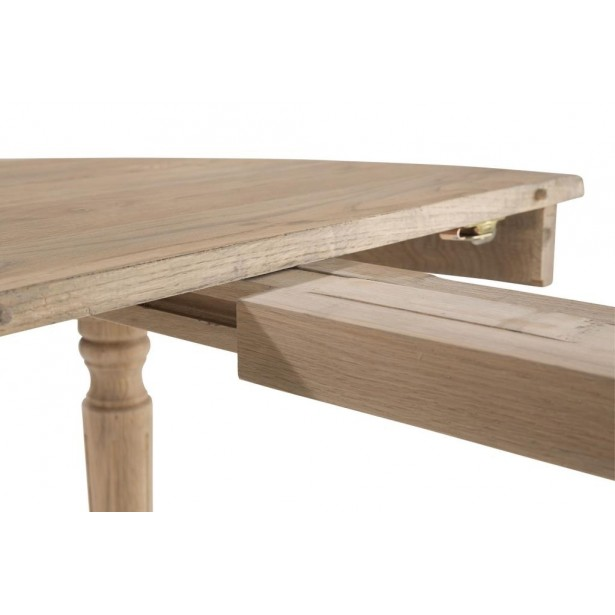 Table À 120320cm Massif Medicis Extensible Chic Classique Manger Chêne AL3j4R5q