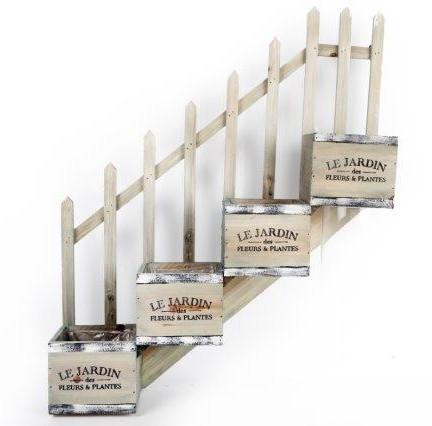 Jardinière Escalier quadruple \