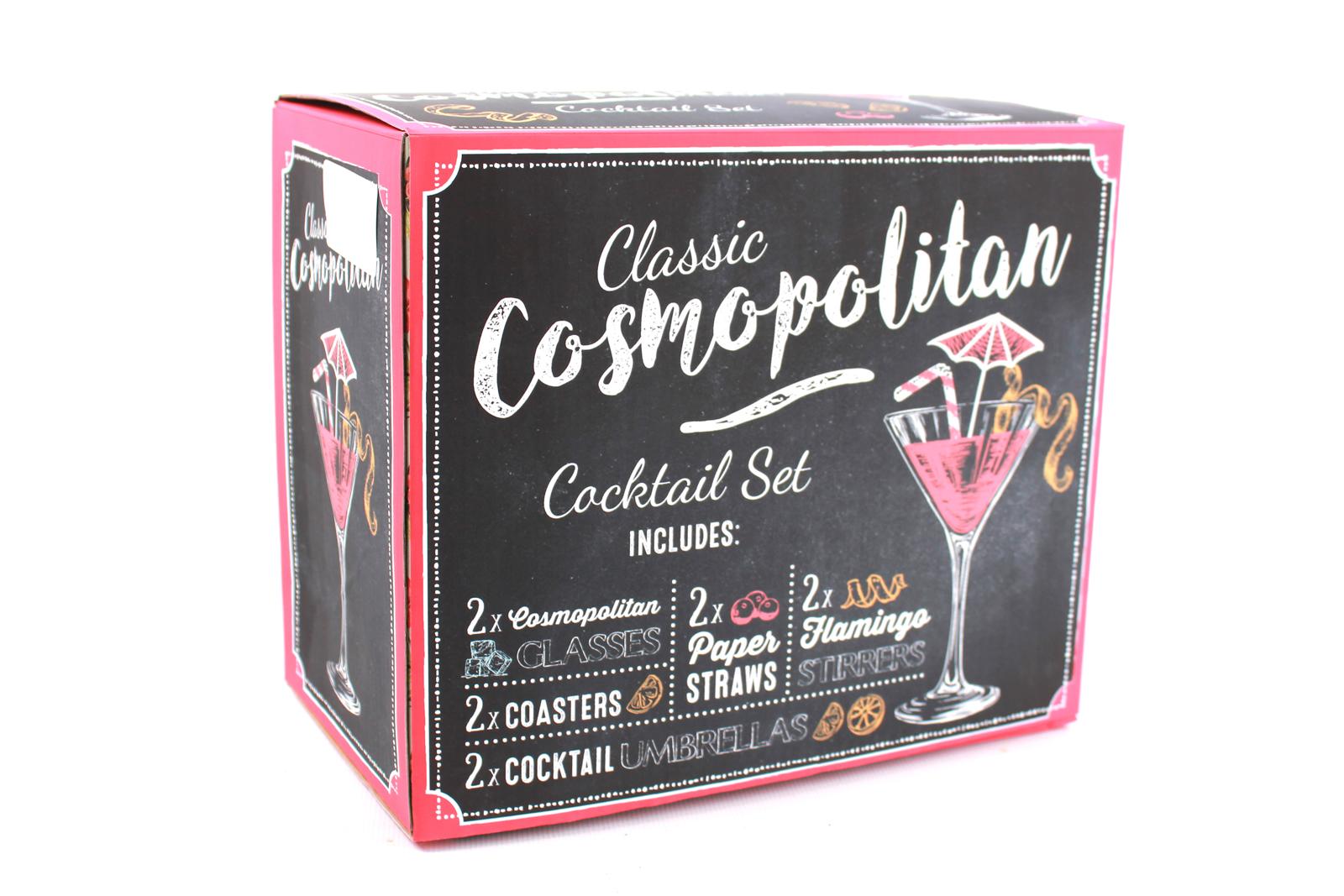 Cosmopolitan Coffret Cocktail À En Set kXn0Pw8O