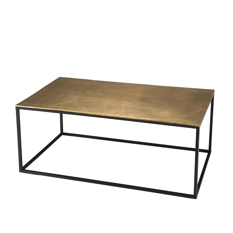 Table Basse Rectangulaire Doree Zala Tables Basses Pier Import