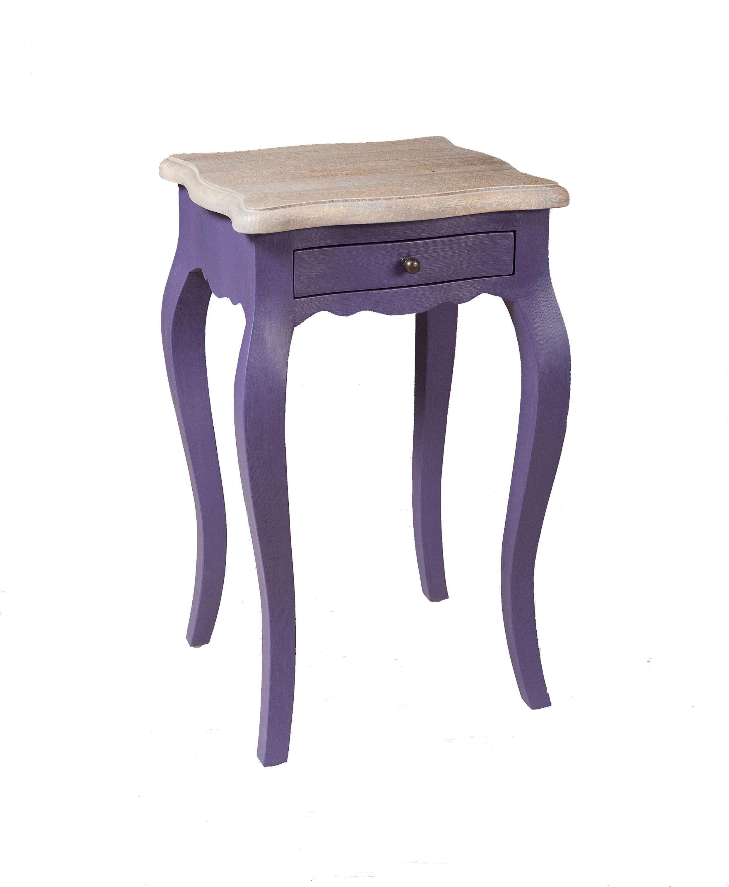 Chambre Baroque Noir Et Violet table de chevet baroque manguier violet pop 66cm odyssee