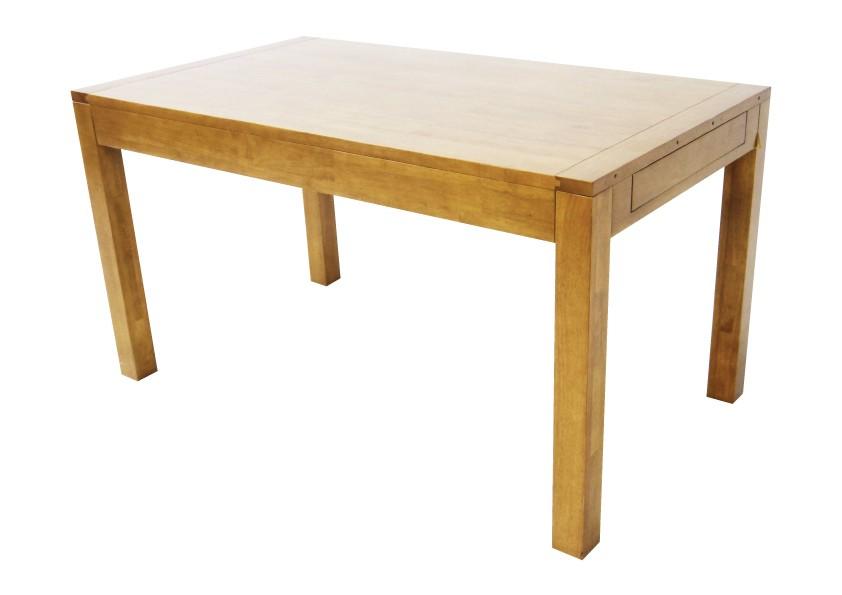 140230cm Hévéa Olga Repas Table Extensible vwNmn80