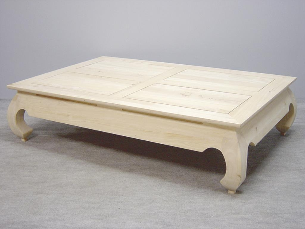 Table Basse Opium Hevea 140x90x35cm Maori Tables Basses Pier