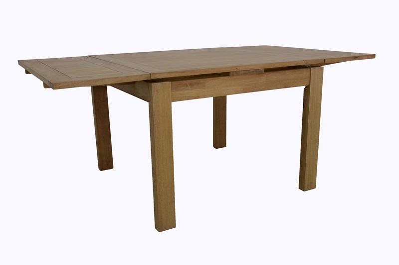 Table Extensible Hévéa 100180x100x76cm Olga De Repas tdhrBCsQx