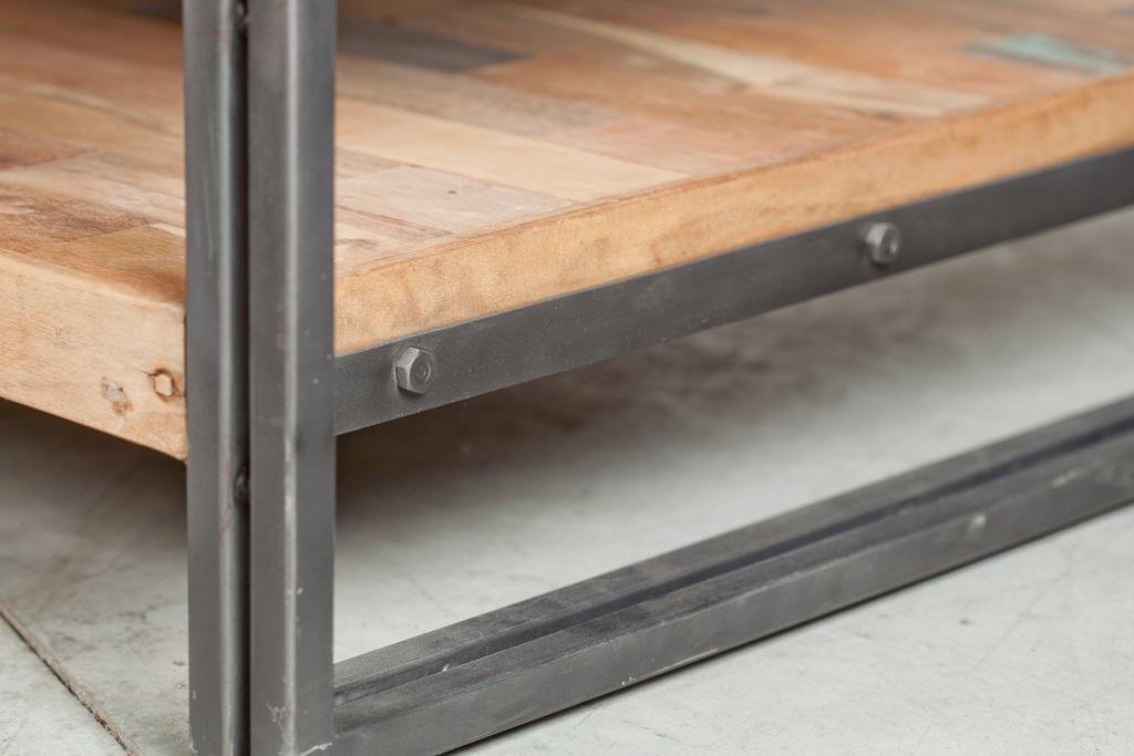 Double Table Plateaux Basse Recyclé Caravelle Carrée 80x80 Bois CxodQrWBe
