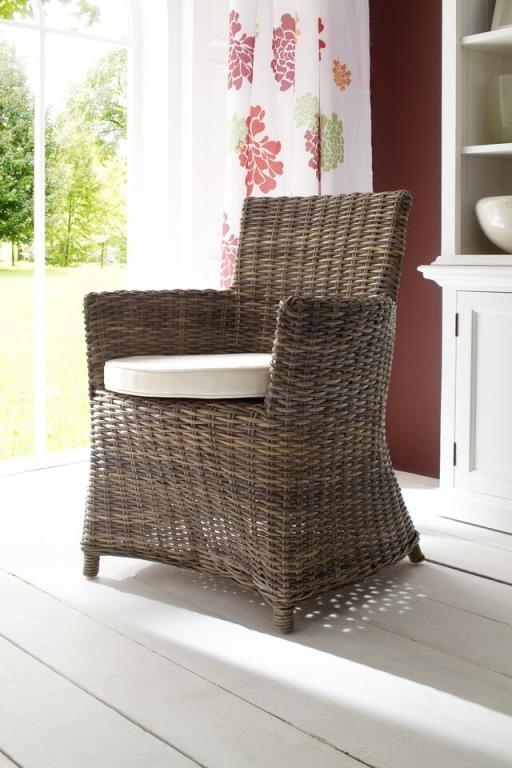 Fauteuil chaise de salle manger en rotin avec Chaises fauteuil salle a manger