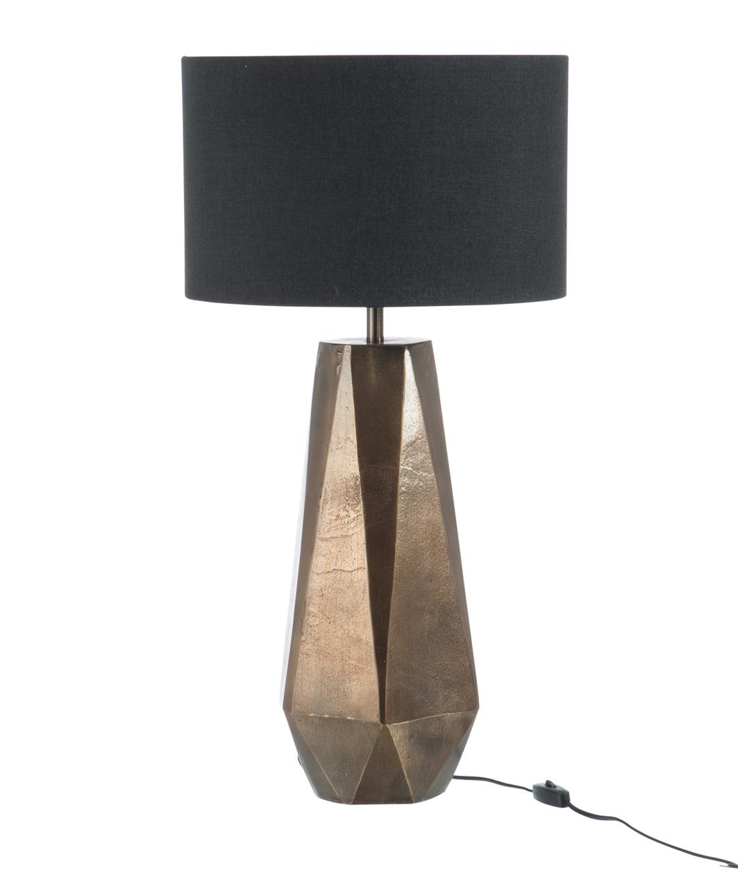 H53cm D21 Lampe En Teintes Alu Jour Sur Gris OrAbat Pied UjSzMGqpLV