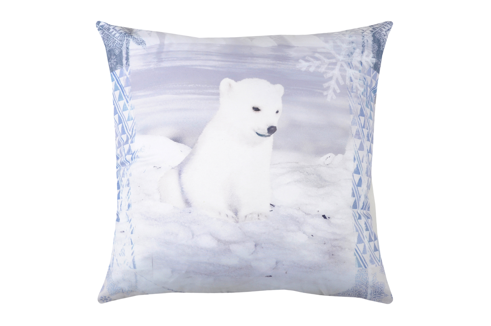 Coussin Blanc Ourson Blanc 40x40cm Ourson Winty 40x40cm Coussin 8knOX0wP
