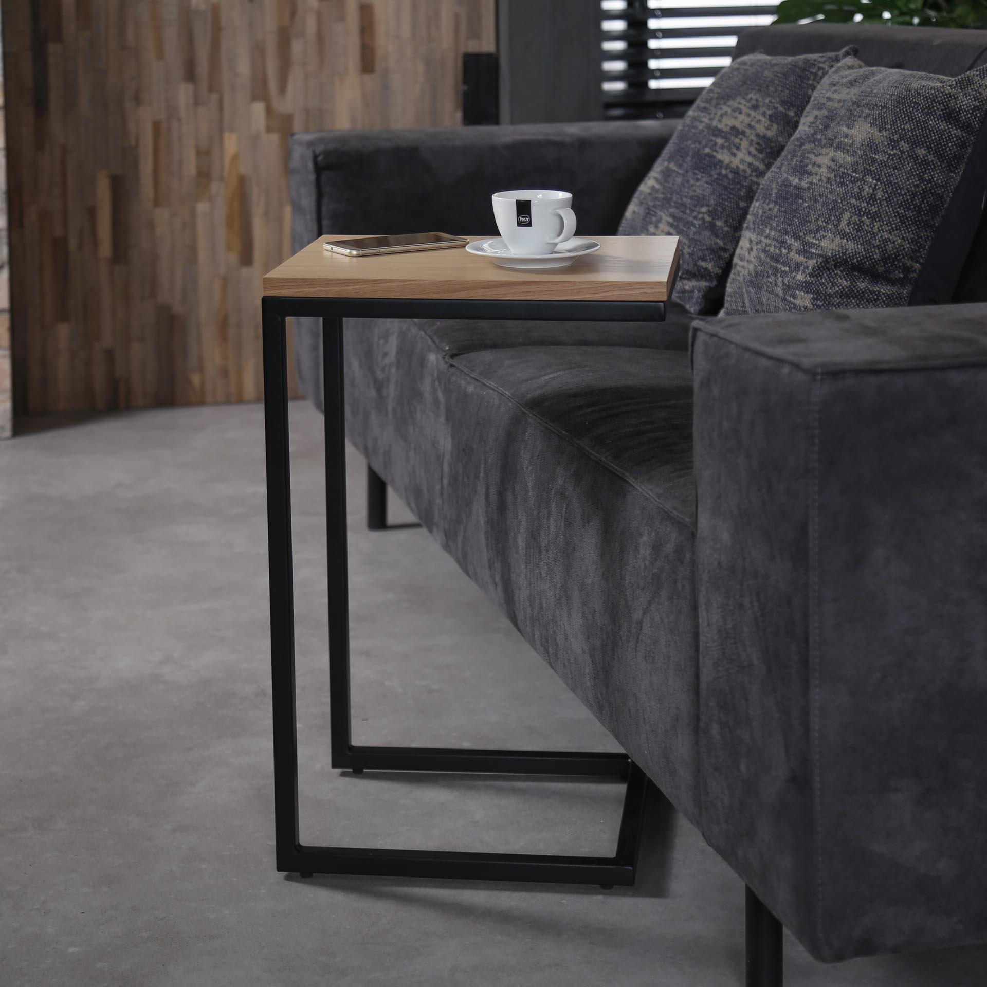 Petite table d\'appoint rectangulaire Göteborg