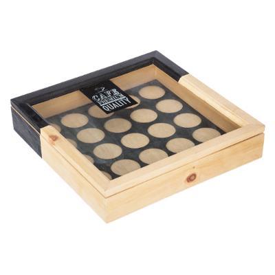Allstore Naturel Boîte Avec Pince Couvercle 1.3 L 23x11x8cm NEUF!!!