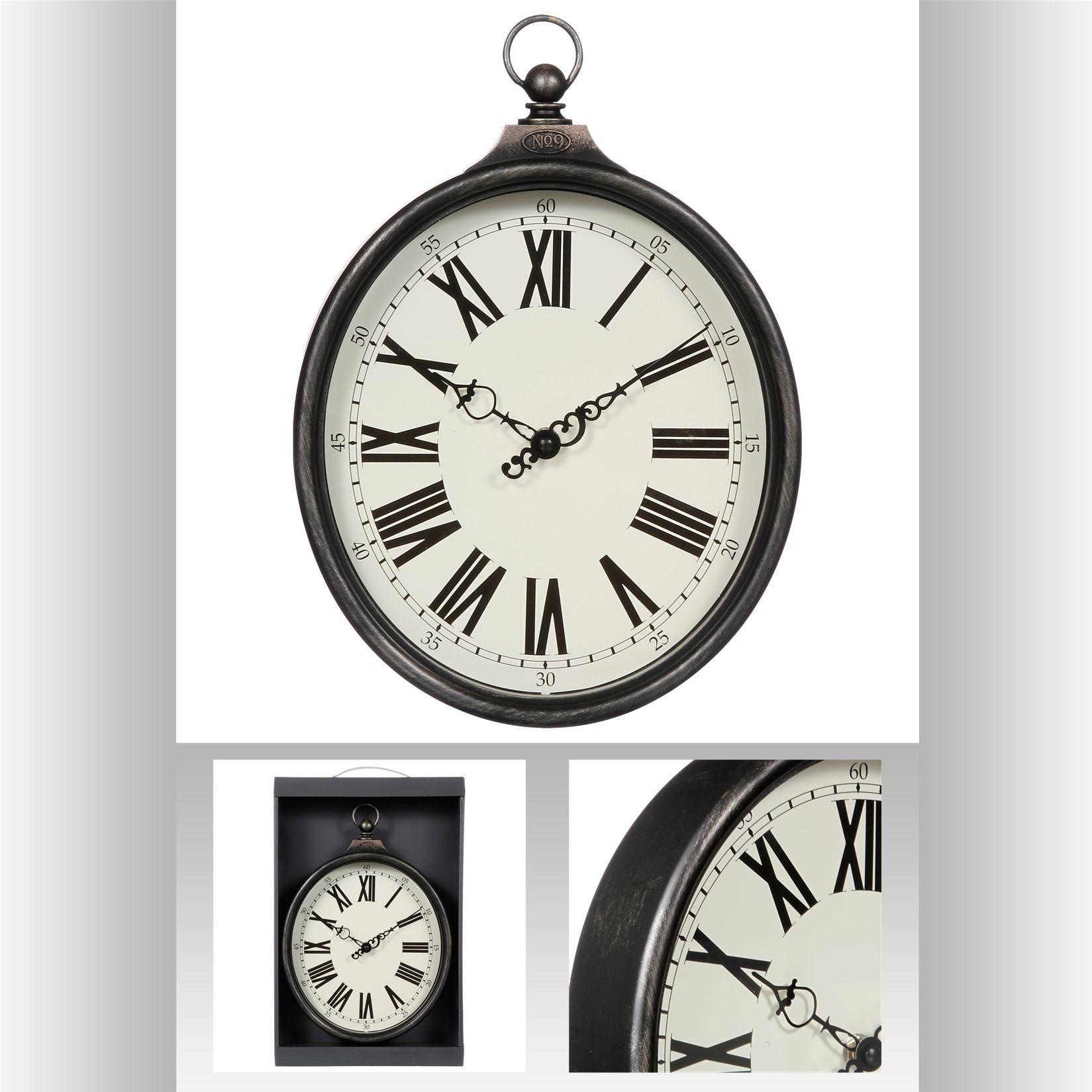 chiffres r/éguliers et r/éguliers SE JT6336-2 Lot de 2 cl/és universelles en laiton pour remonter les horloges
