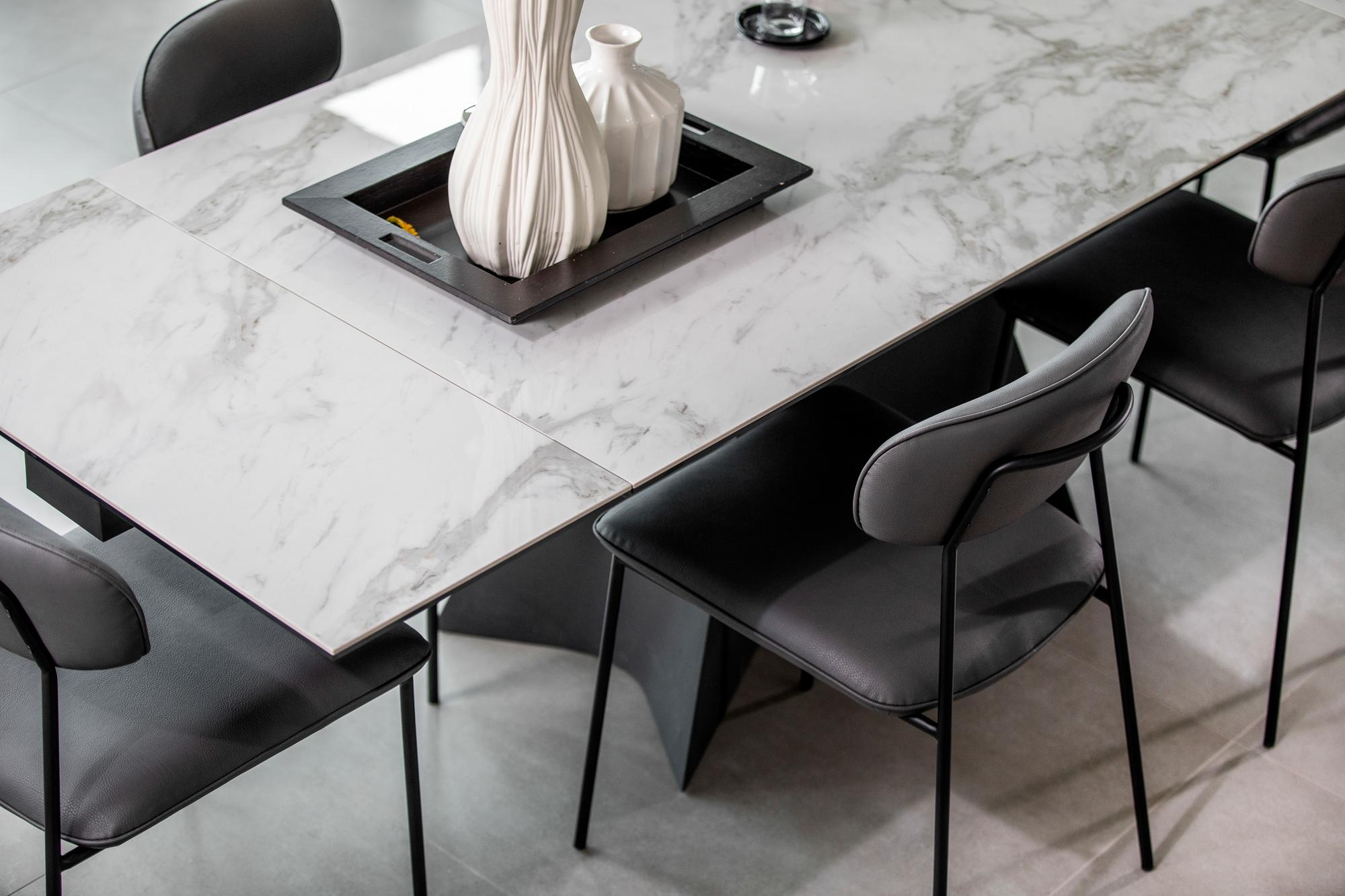 Table céramique extensible 7-7 cm VERONE